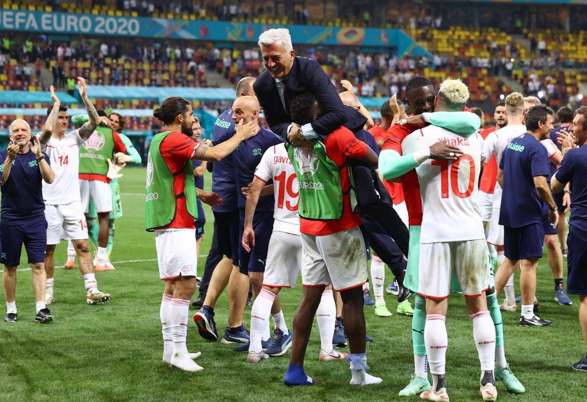Fransa yı eleyen İsviçre çeyrek finalde #6