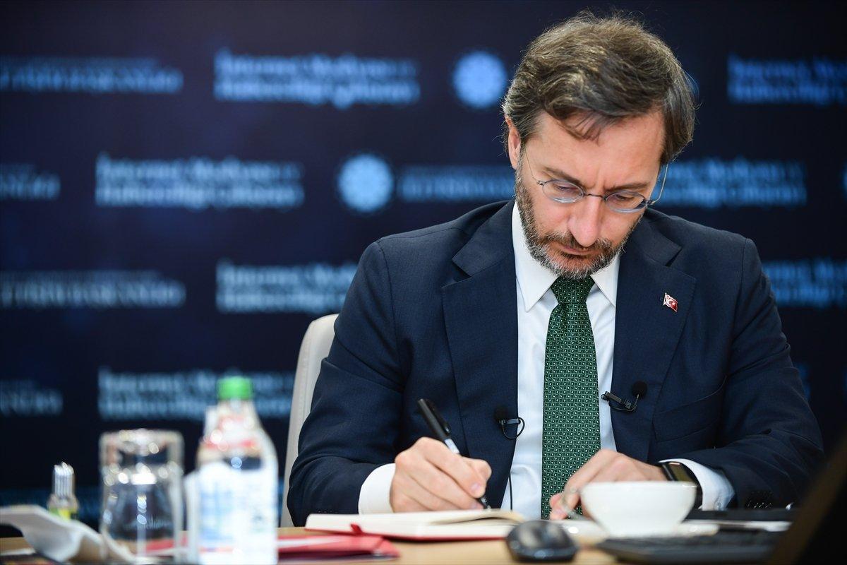 Fahrettin Altun, İnternet Medyası ve Haberciliği Çalıştayı nda konuştu #2