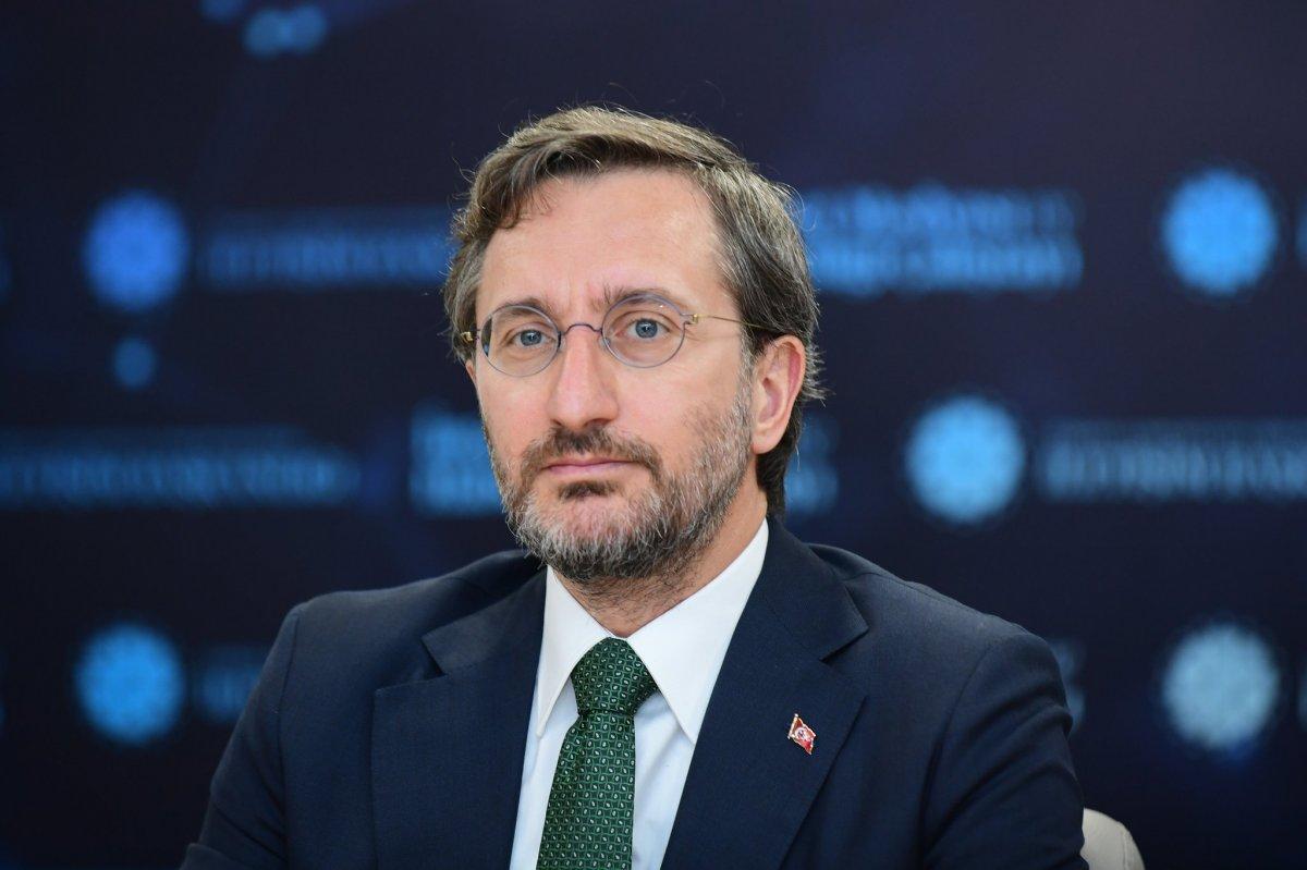Fahrettin Altun, İnternet Medyası ve Haberciliği Çalıştayı nda konuştu #3