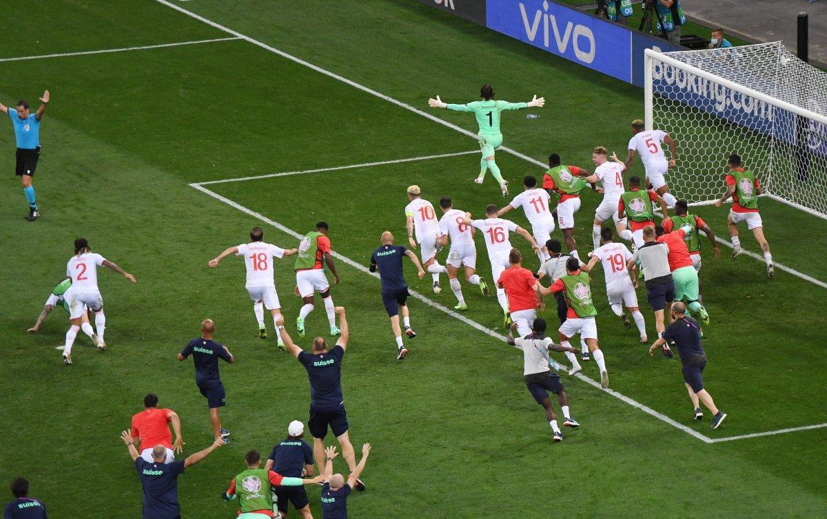 Fransa yı eleyen İsviçre çeyrek finalde #2