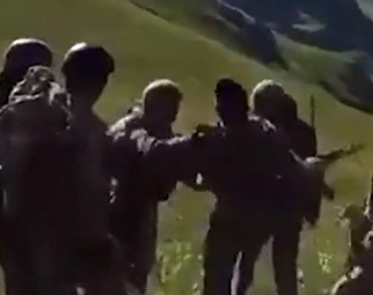 Azerbaycan askerleri, sınır ihlali yapan Ermeni askerleri dövdü #2
