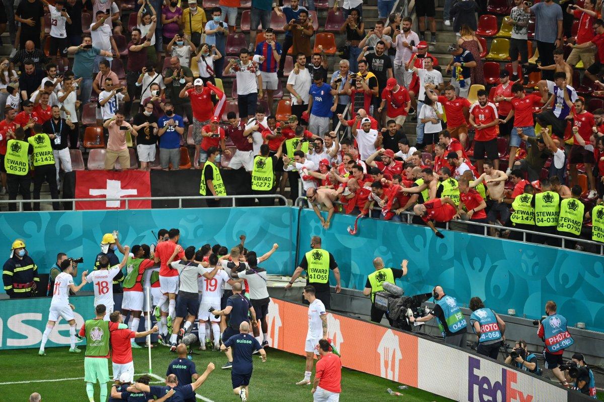 Fransa yı eleyen İsviçre çeyrek finalde #3