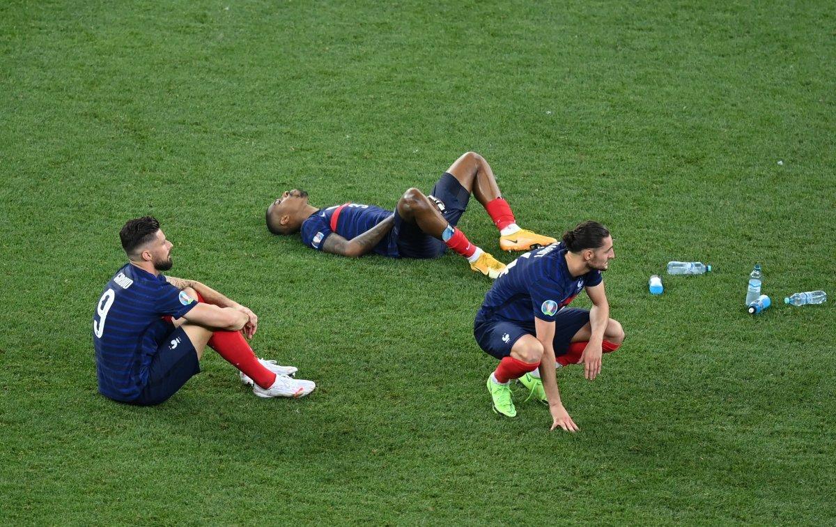 Fransa yı eleyen İsviçre çeyrek finalde #1