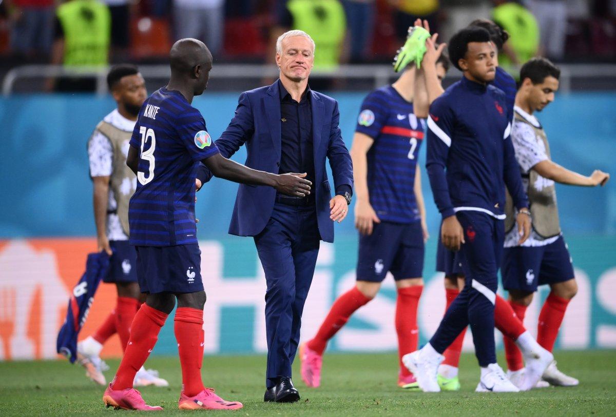 Fransa yı eleyen İsviçre çeyrek finalde #8