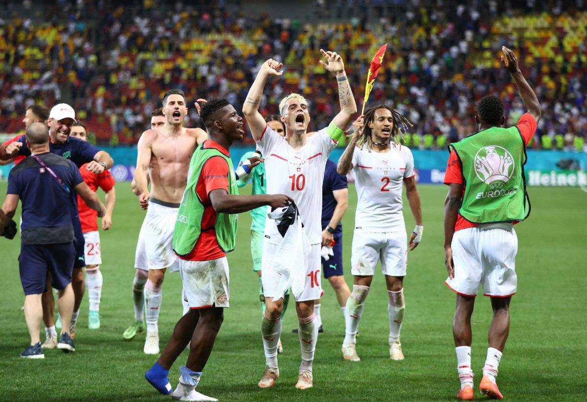 Fransa yı eleyen İsviçre çeyrek finalde #10