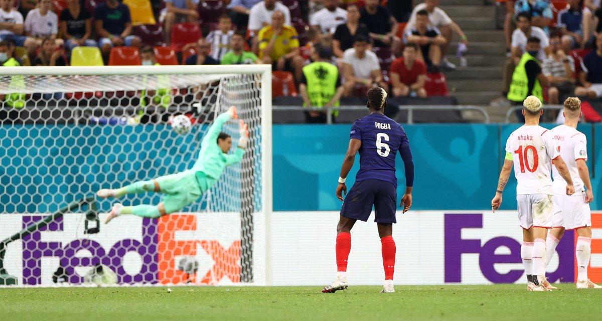 Paul Pogba nın İsviçre ye attığı gol #3