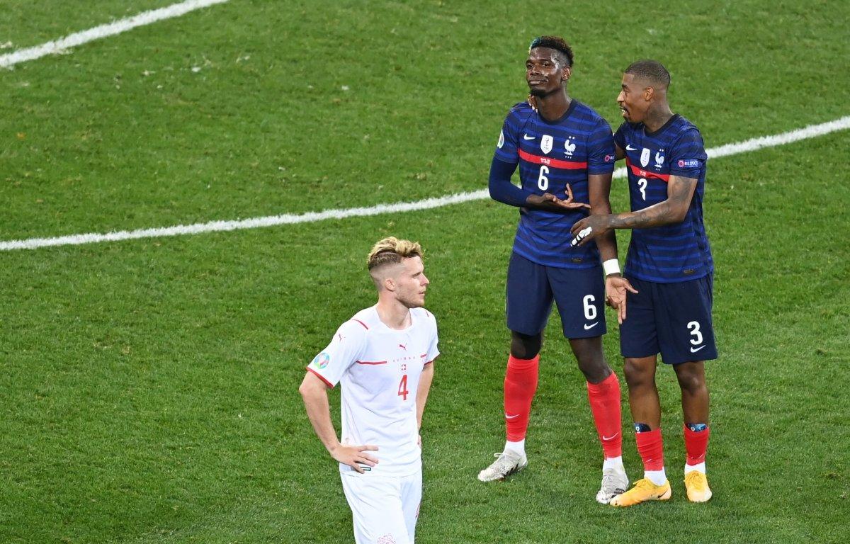 Paul Pogba nın İsviçre ye attığı gol #6