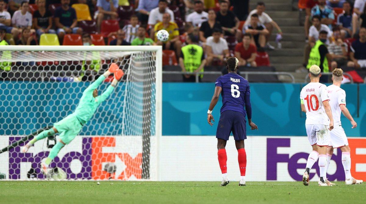 Paul Pogba nın İsviçre ye attığı gol #2