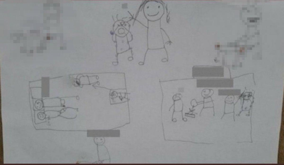Elmalı da çocuk istismarı: Anne ve üvey babanın fotoğrafları   #5