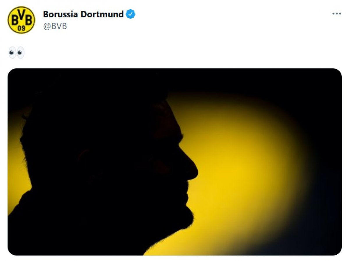 Dortmund un paylaşımı Şenol Güneş e benzetildi #1