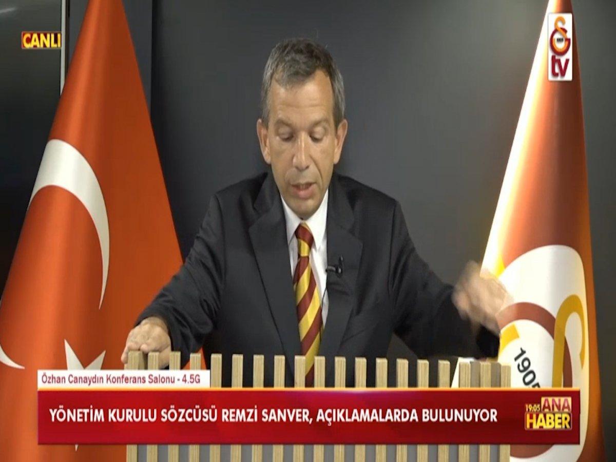 Galatasaray Yönetim Kurulu Sözcüsü Sanver: Taylan ın yanındayız #2
