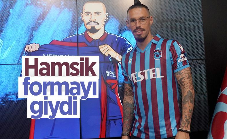 Trabzonspor'da Hamsik imzayı attı
