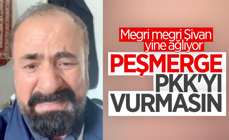 Şivan Perwer peşmergeye yalvardı: PKK'yı vurmayın
