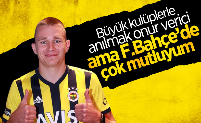 Attila Szalai: Fenerbahçe'de çok mutluyum