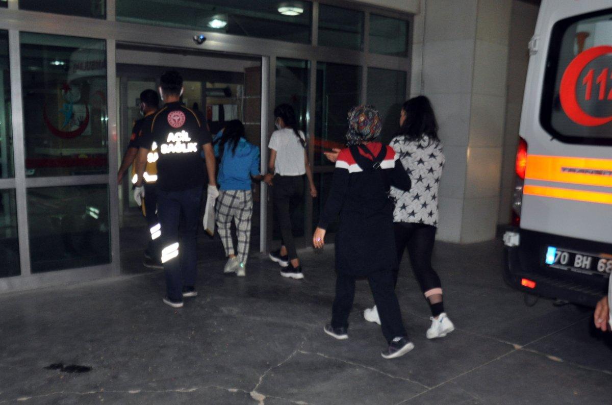 Karaman da Sevgi Evleri nde çamaşır suyundan etkilenenler taburcu edildi #1