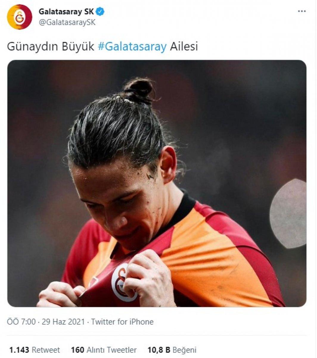 Galatasaray'dan Taylan Antalyalı paylaşımı  #1