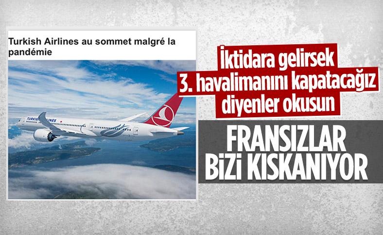 Türk Hava Yolları pandemiye rağmen zirvede