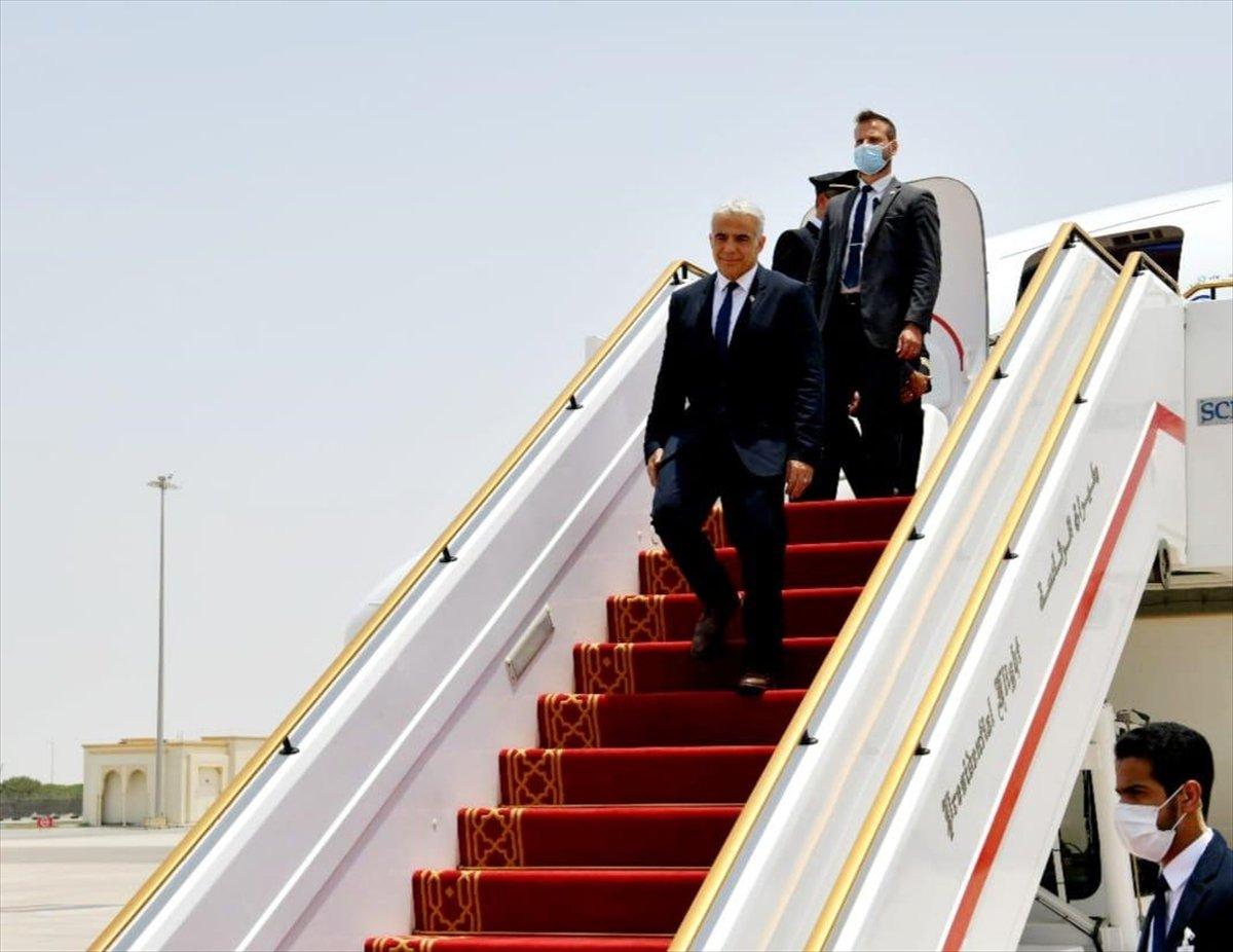 İsrail Dışişleri Bakanı Yair Lapid BAE de #1