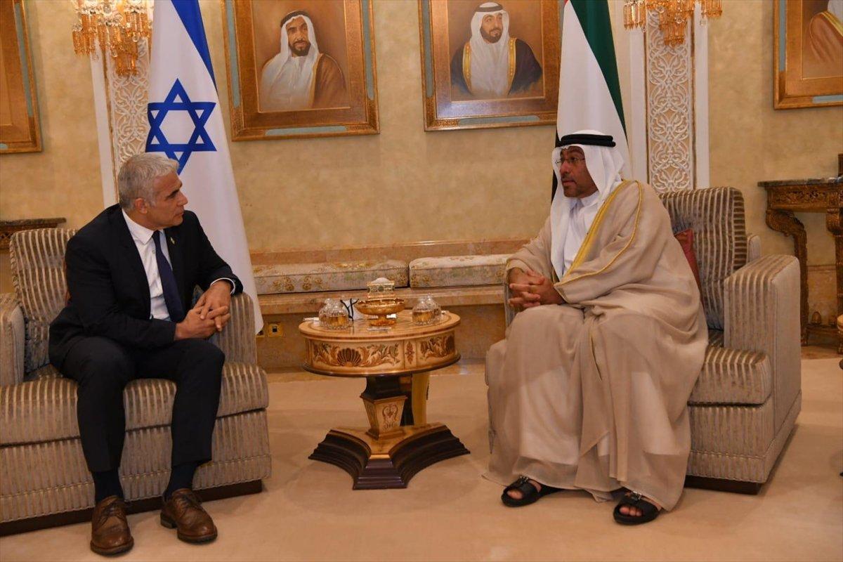İsrail Dışişleri Bakanı Yair Lapid BAE de #3
