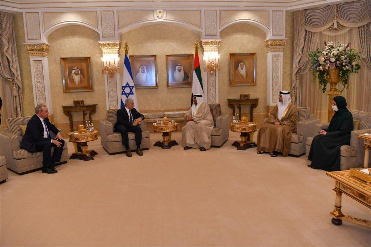 İsrail Dışişleri Bakanı Yair Lapid BAE de #4