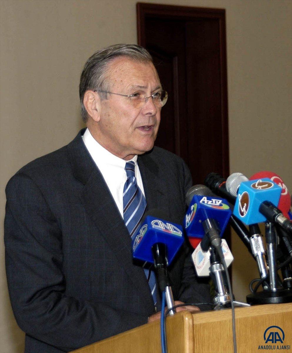 ABD nin eski Savunma Bakanı Donald Rumsfeld öldü #4