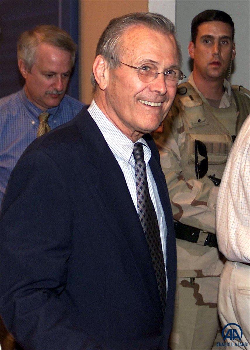 ABD nin eski Savunma Bakanı Donald Rumsfeld öldü #2
