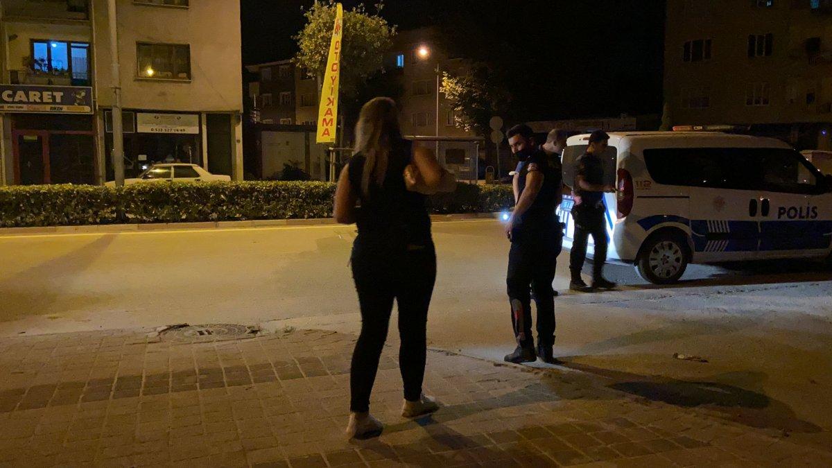 Bursa da polisin dur ihtarına uymadı, mezarlık duvarına çarptı #1