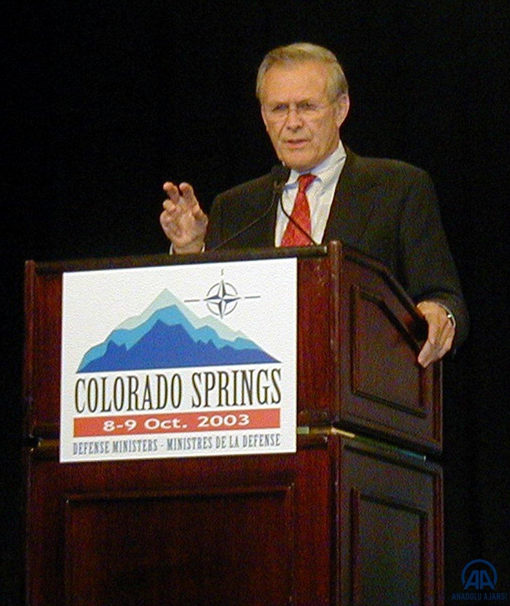 ABD nin eski Savunma Bakanı Donald Rumsfeld öldü #5