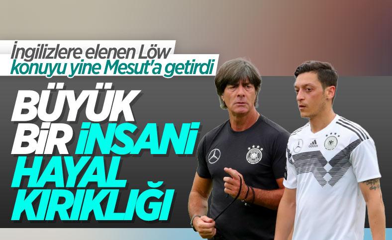 Löw'den Mesut Özil sözleri