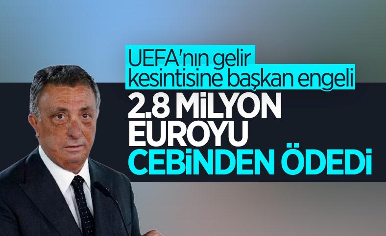 Beşiktaş'ta UEFA krizini Ahmet Nur Çebi çözdü