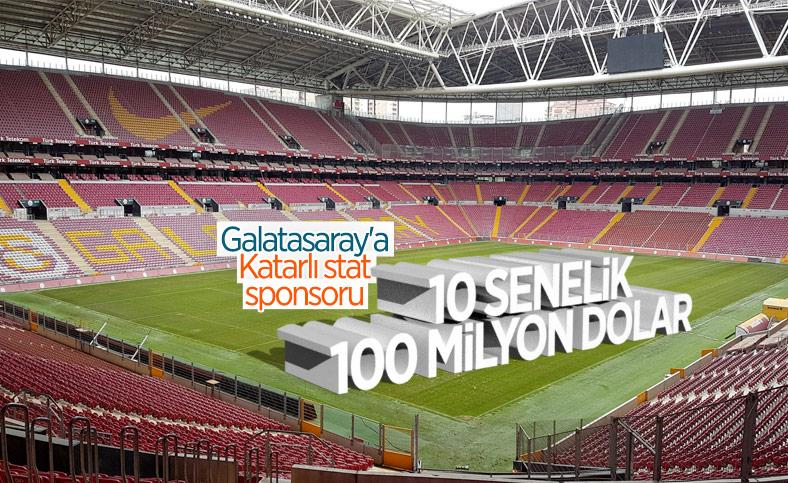 Galatasaray'a yeni stat ismi sponsoru