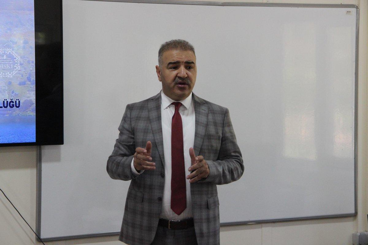 DİSKİ Genel Müdürü Tutşi: Diyarbakır da kaçak su kullanımı yüzde 45  #1