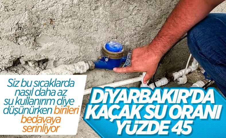 DİSKİ Genel Müdürü Tutşi: Diyarbakır'da kaçak su kullanımı yüzde 45