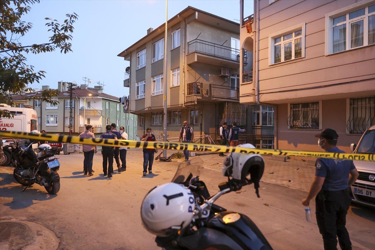 Ankara'da bir binanın temeli kaydı: 5 bina boşaltıldı #8