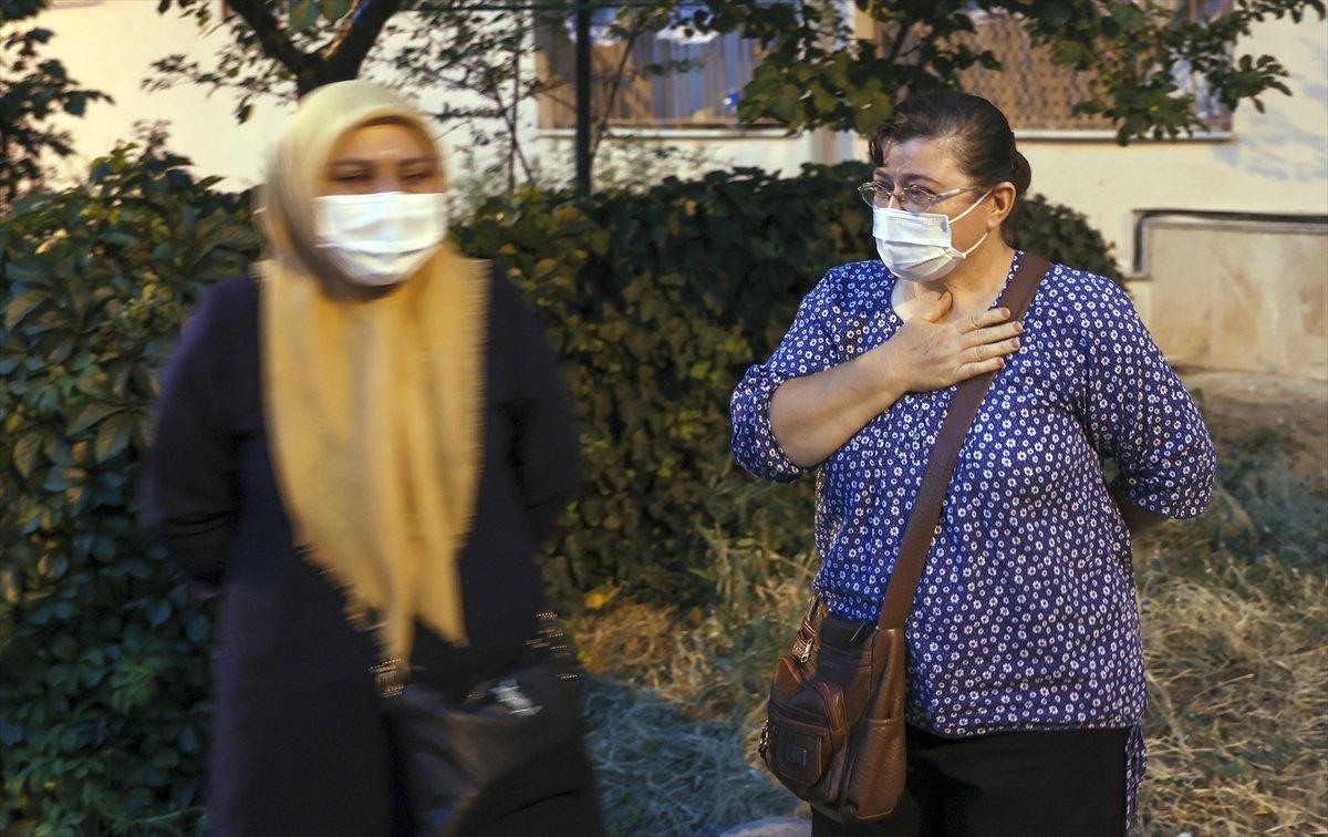 Ankara'da bir binanın temeli kaydı: 5 bina boşaltıldı #9