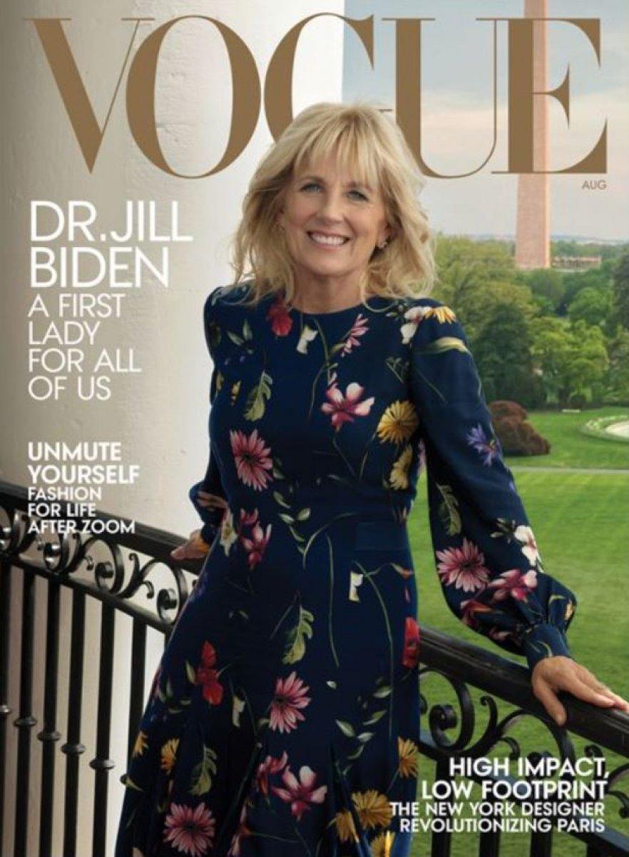 Vogue, Jill Biden ı kapağına taşıdı #1