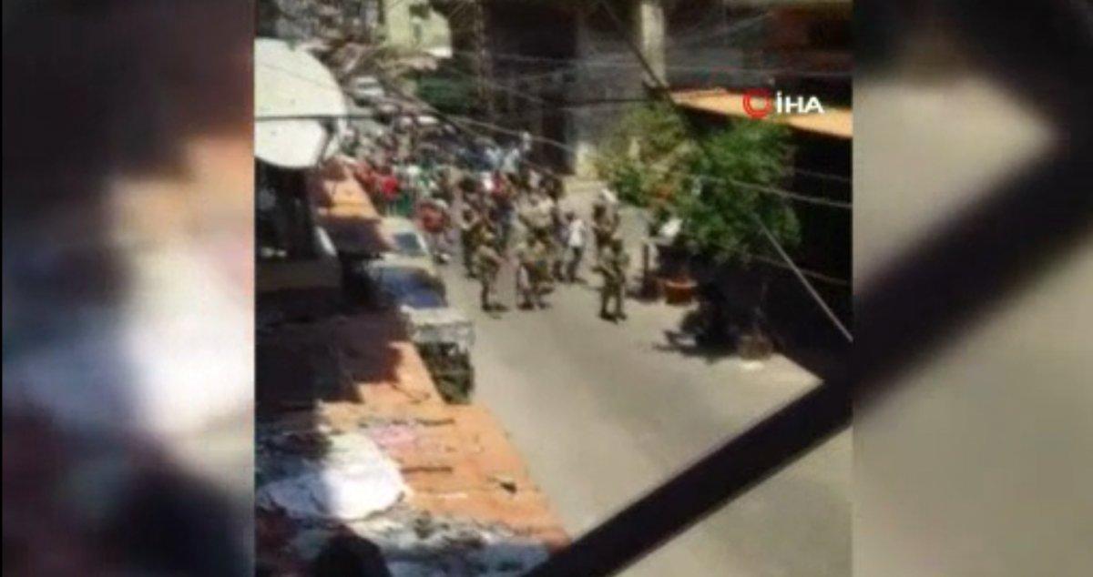 Lübnan da sokağa dökülen halk ekonomik krizi protesto etti  #2