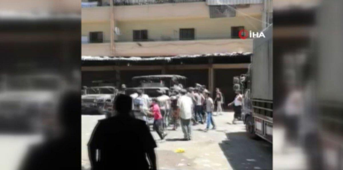 Lübnan da sokağa dökülen halk ekonomik krizi protesto etti  #4