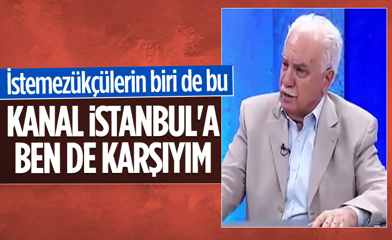 Doğu Perinçek Kanal İstanbul için cinayet dedi