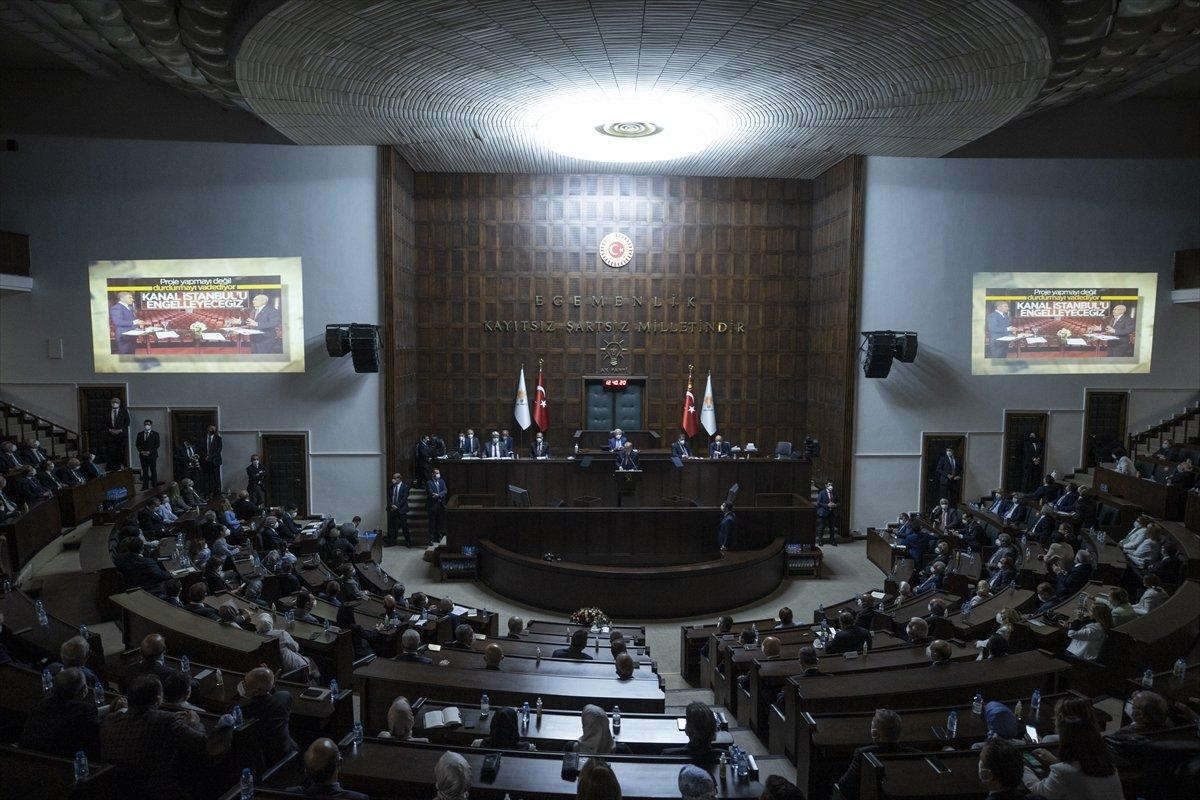 Cumhurbaşkanı Erdoğan ın grup toplantısında izlettiği video: CHP nin karşı çıktığı projeler #3