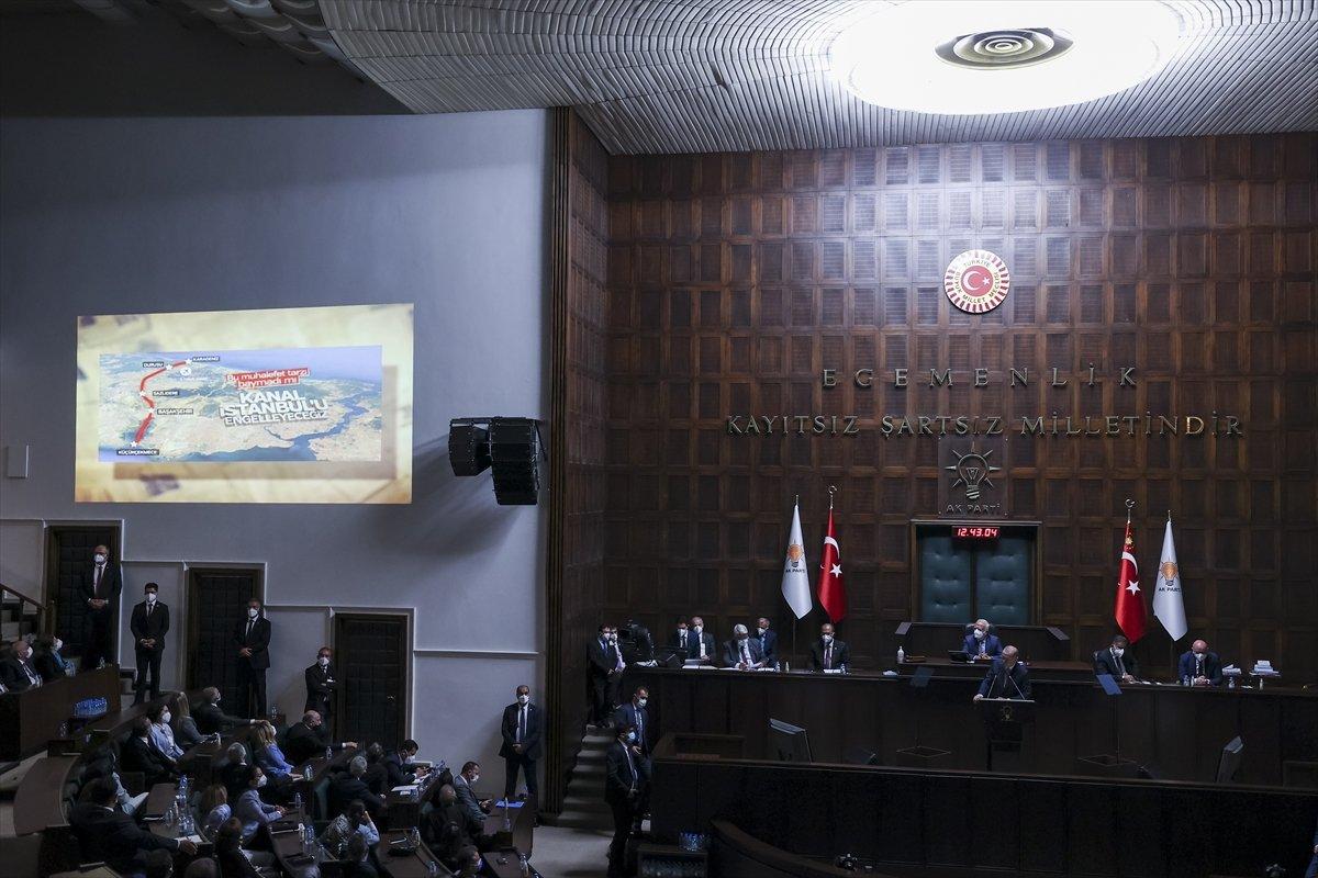 Cumhurbaşkanı Erdoğan ın grup toplantısında izlettiği video: CHP nin karşı çıktığı projeler #2