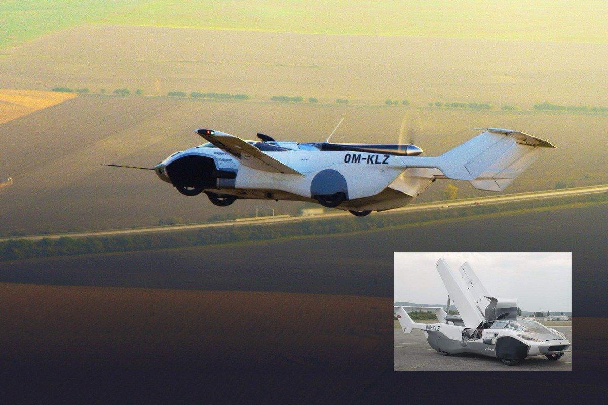 Uçan araba AirCar ilk uçuş testini geçti #7