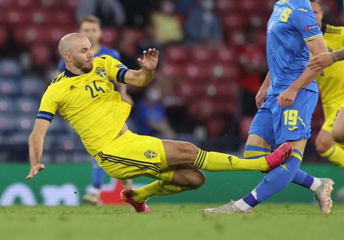 İsveç'i uzatmalarda 2-1 mağlup eden Ukrayna çeyrek finalde #1