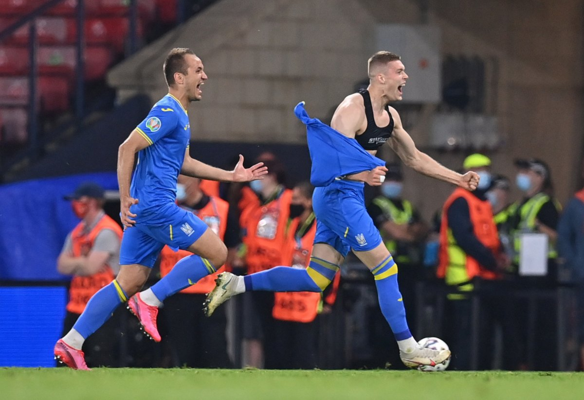 İsveç'i uzatmalarda 2-1 mağlup eden Ukrayna çeyrek finalde #3