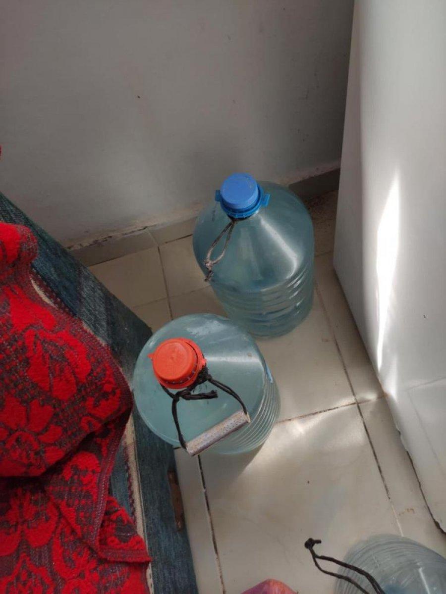 Tekirdağ da 545 litre sahte içki ele geçirildi #6