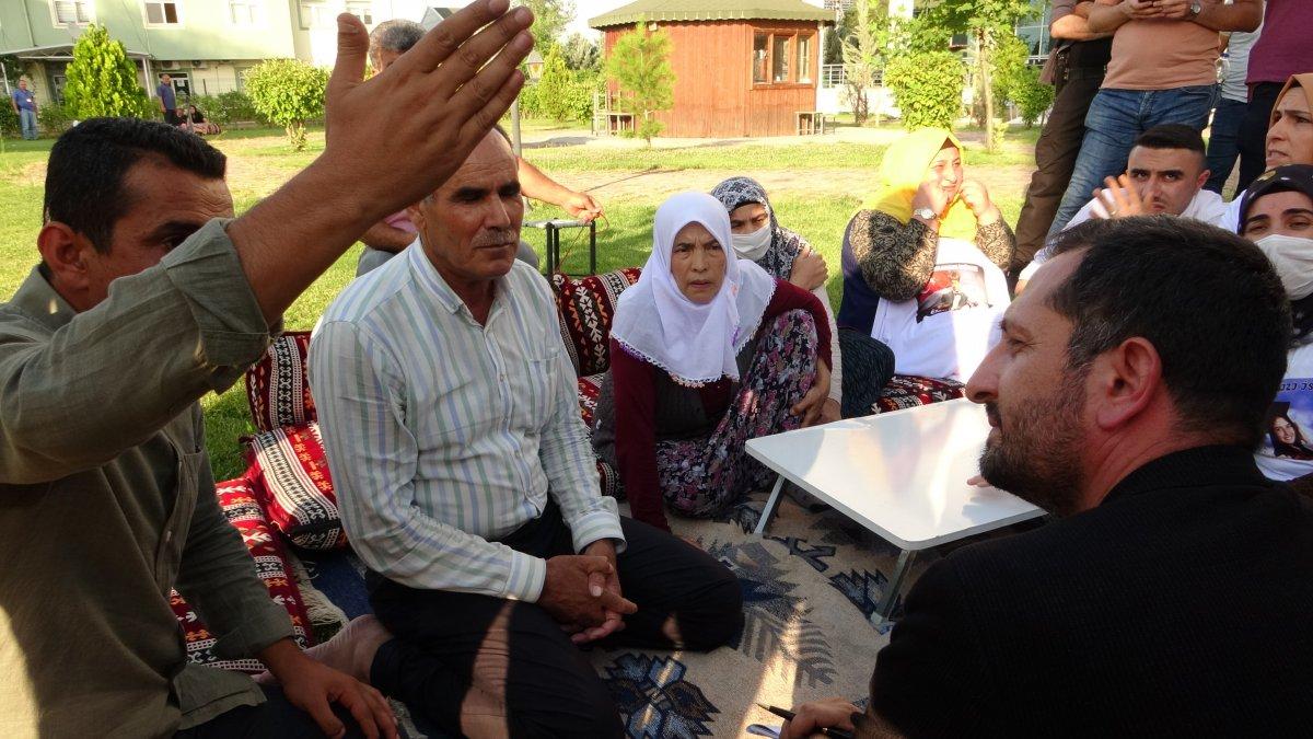 Evlat nöbeti tutan ailelerden CHP'li vekile sert tepki #5
