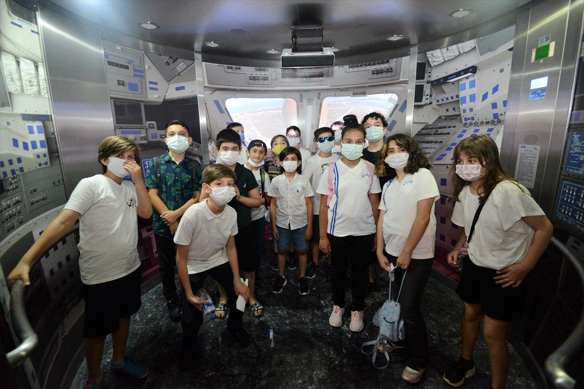 Gökmen Uzay Havacılık Eğitim Merkezi, ziyaretçilerini ağırlıyor #1