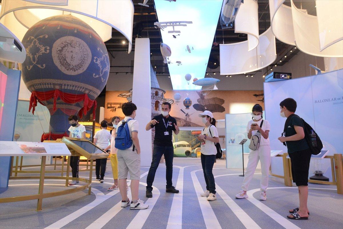 Gökmen Uzay Havacılık Eğitim Merkezi, ziyaretçilerini ağırlıyor #4