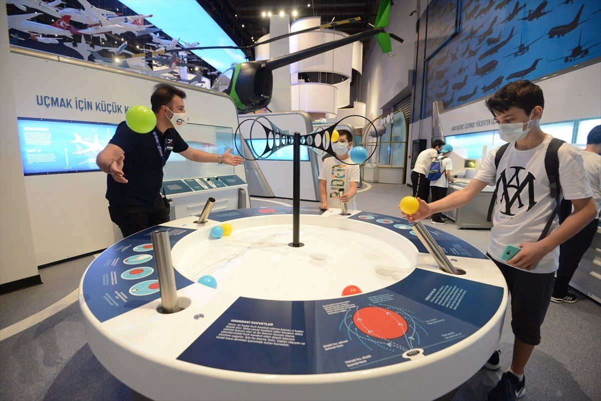Gökmen Uzay Havacılık Eğitim Merkezi, ziyaretçilerini ağırlıyor #2