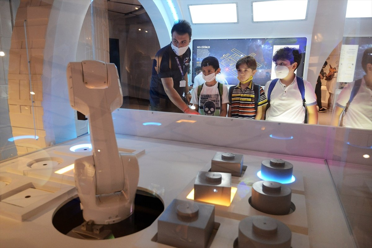 Gökmen Uzay Havacılık Eğitim Merkezi, ziyaretçilerini ağırlıyor #5